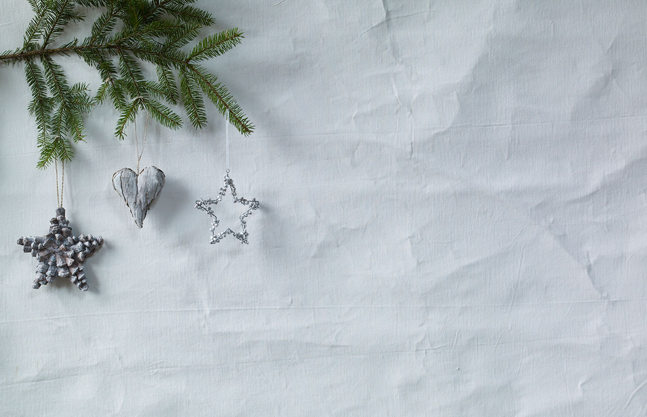 natural gifts hanging from tree
