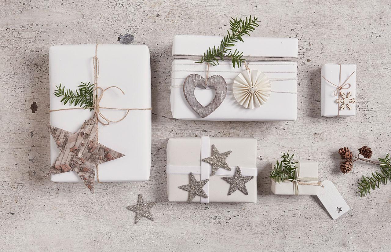 bespoke handmade natural gift wrap