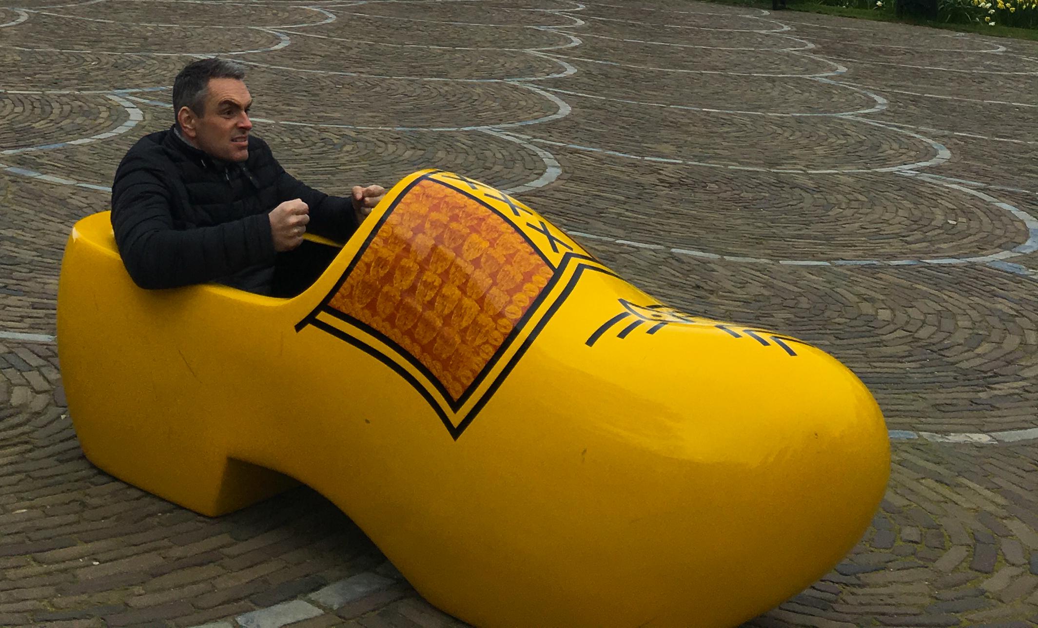 Clog in Amsterdam