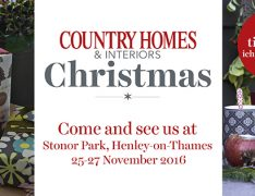 christmas, show, country homes and interiors