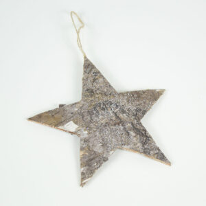 Birch Star With Light Frost Finish