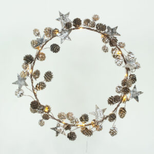 Star and Cone Wreath