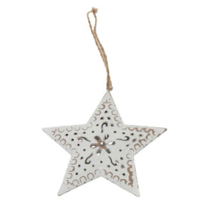 metal star hangers 6 piece pack