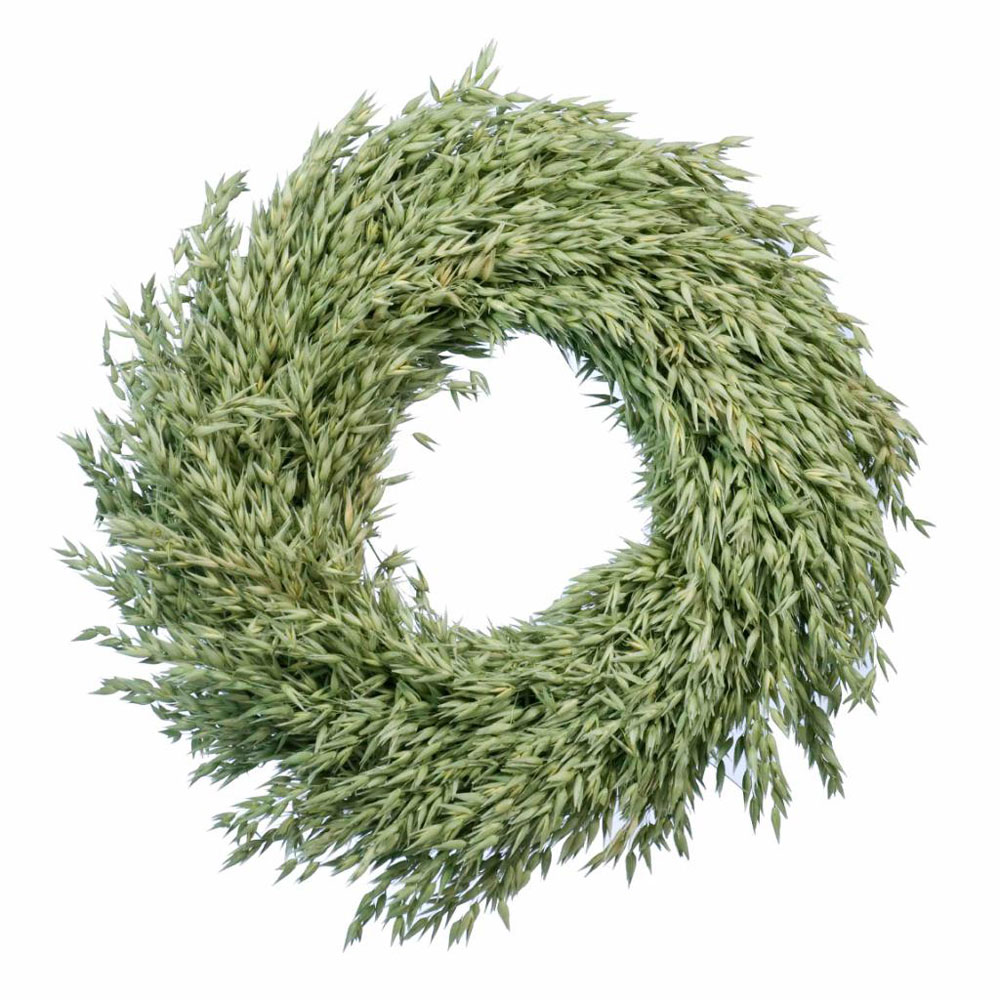 Oat circular wreath 35cm