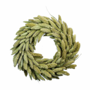 Setaria Dried Grass Wreath
