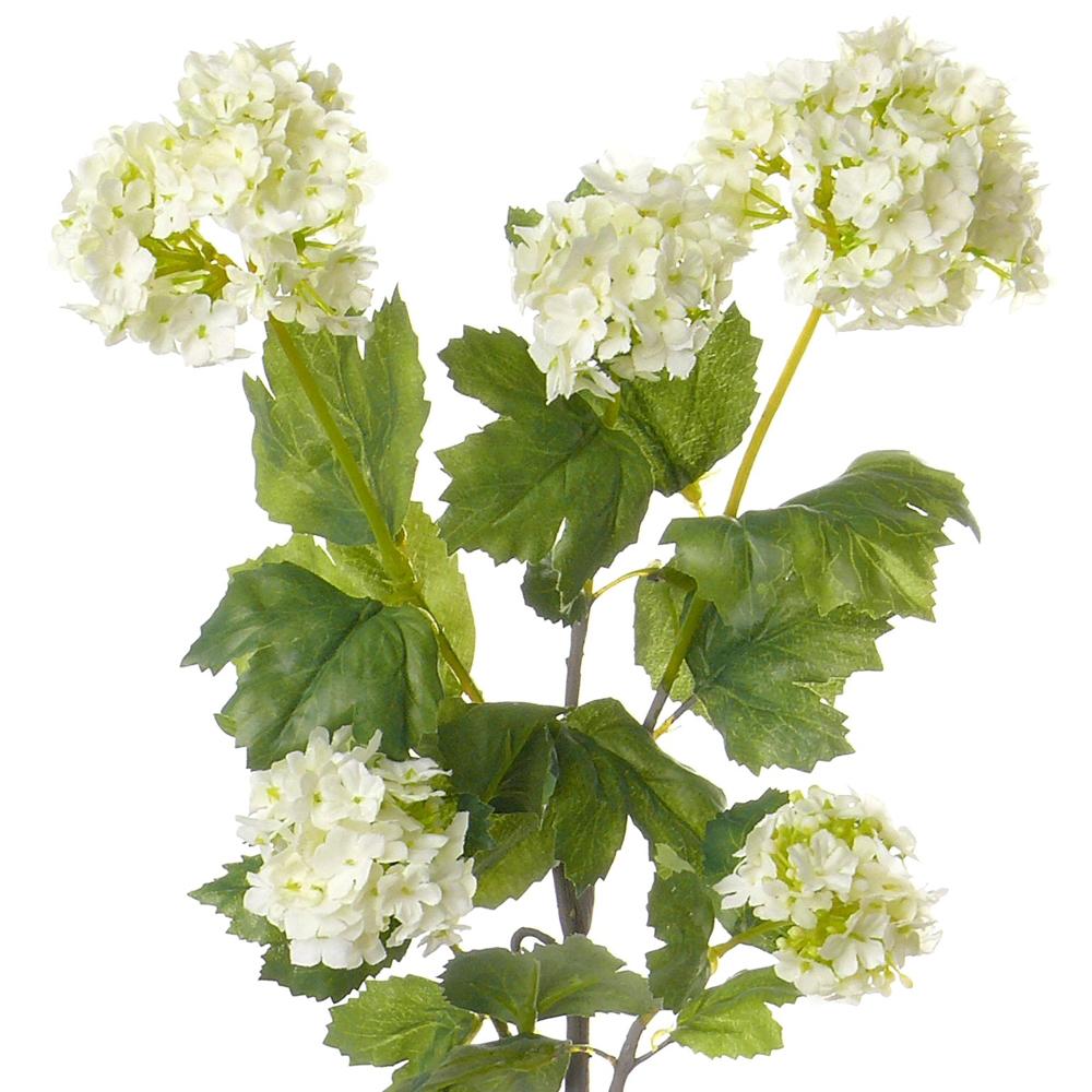 Faux Viburnum White