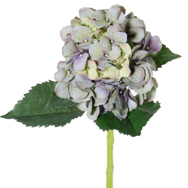 Artificial Hydrangea Stem Dusky Blue