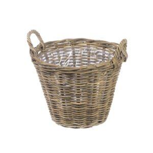 Kubu Rattan Basket, 40cm
