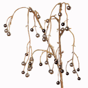 Cascading Faux Pearl Stem In Tonal Colours