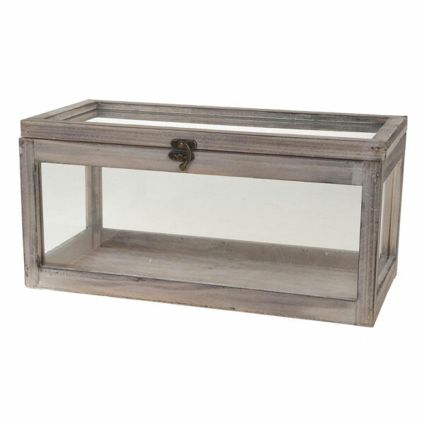 Wooden Window Box With Lid