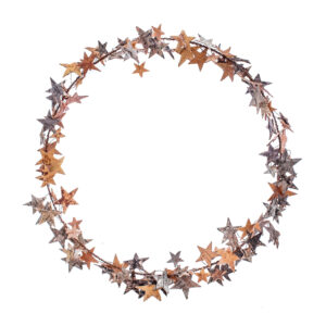 Star Wreath, Birch Bark Stars