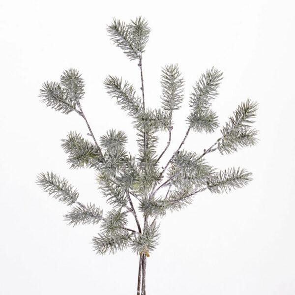 Faux Pine spray, whitewashed, 63cm