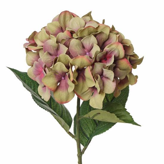 Hydrangea Faux Garnet