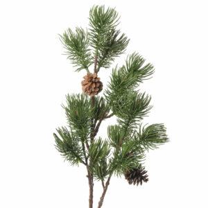 Faux Pine Spray Stem
