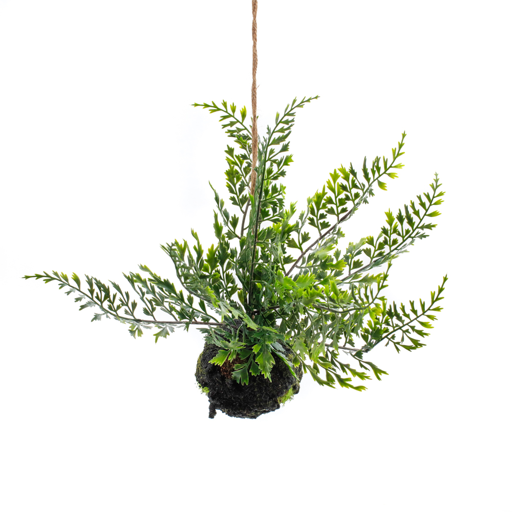 Hanging Faux Fern