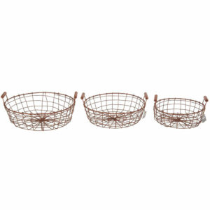 Wire Baskets Copper Wire
