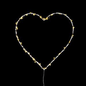 LED Heart 20cm