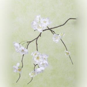 Faux Cherry Blossom, cream, 83cm