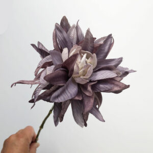 Faux Dahlia, Lilac