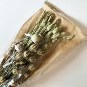 Dried Flat Bouquet, Natural