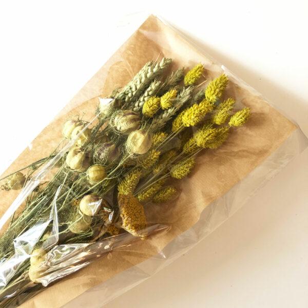 Flat Bouquet – yellow
