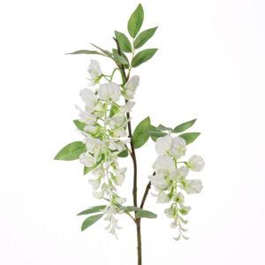 faux wisteria white