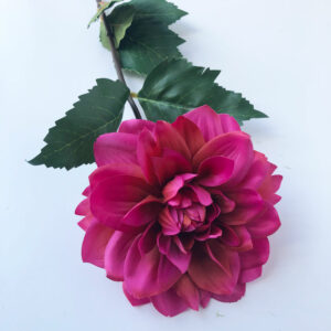 Faux Pink Dahlia