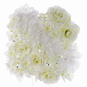 Flower wall, white