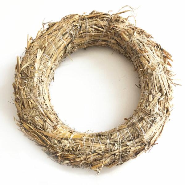 Straw Wreath, 20cm Diameter