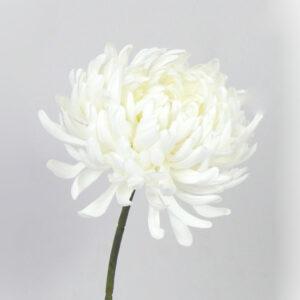 Faux Chrysanthemum, cream