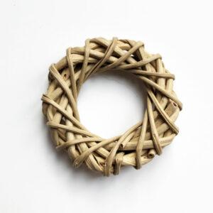 Lata Mini Wreath, Natural 5cm