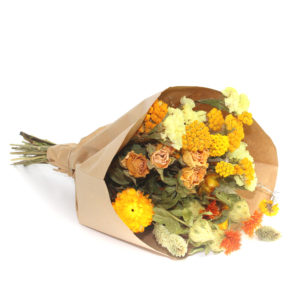 Wildflower Field Bouquet, Small, Orange
