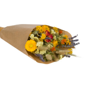 Wildflower Field Bouquet, Small, Orange