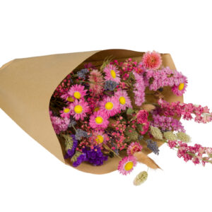 Wildflower Field Bouquet, Large, Pink