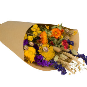 Wildflower Field Bouquet, Large, Orange
