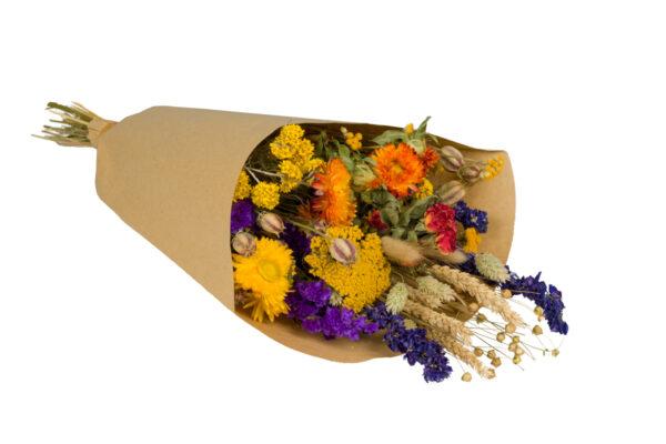 Wildflower Field Bouquet, Large, Orange