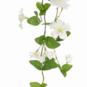 Petunia Garland, White