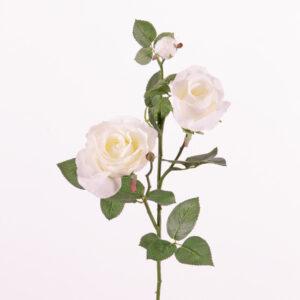 Ever Bloom Rose Spray, White