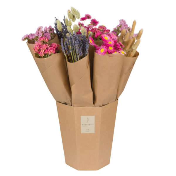 Market Single, Pink, 12 bunches