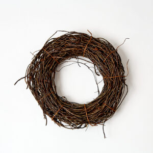 Rattan Wreath Small