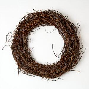 Rattan Wreath, Medium