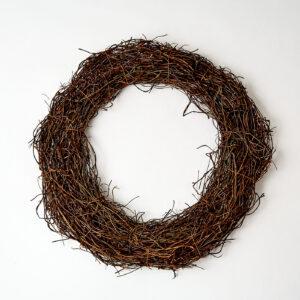 Rattan Wreath, Large