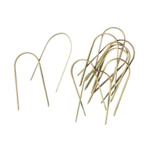 This image shows a selection of hooped mossing pins.