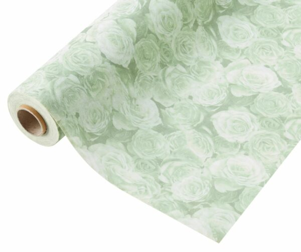Compostable Wrap, Rose, Green