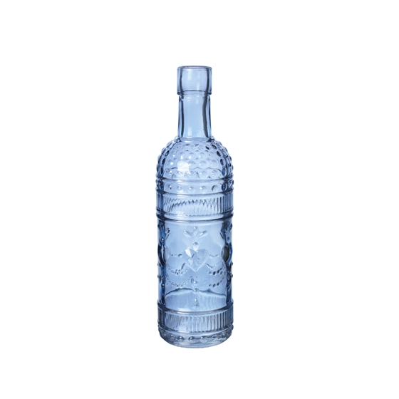 Foxton Bottle Blue 20cm High