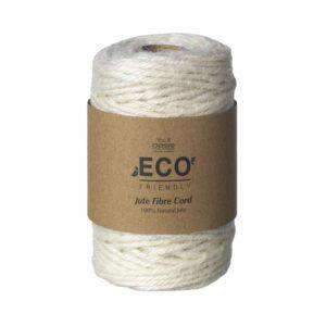 Jute Fibre Cord Cream, 50m