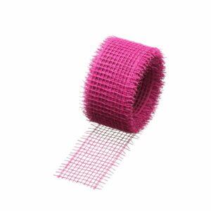 Jute Fibre Ribbon Pink 20m