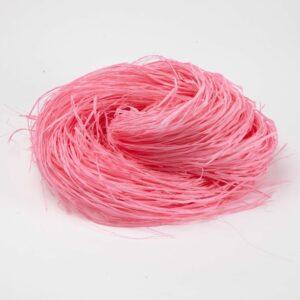 Long Raffia Pale Pink 250g