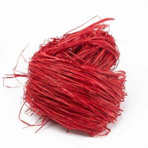 Long Raffia Red 250g