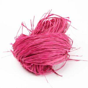 Long Raffia Strong Pink 250g